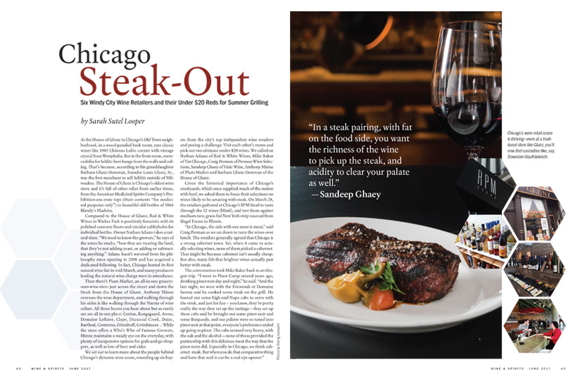 Chicago Steak-Out