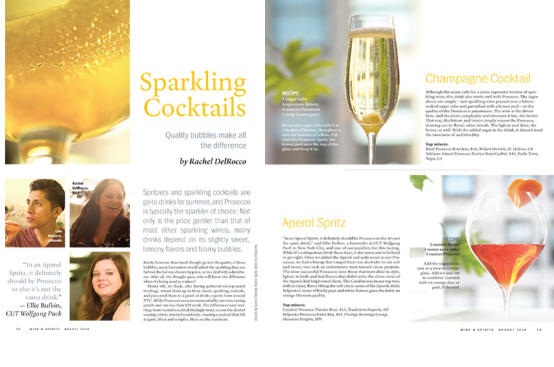 Sparkling Cocktails: Upping Your Game